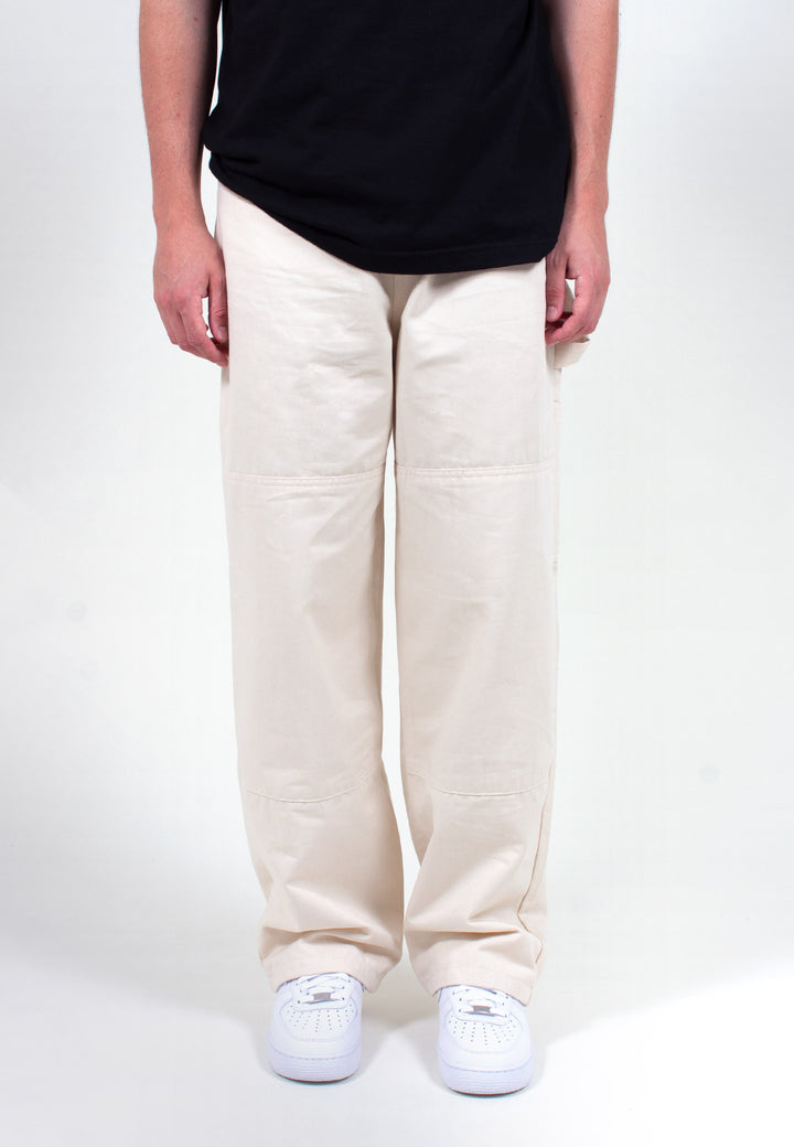 Wide Leg Painter Pant - natural