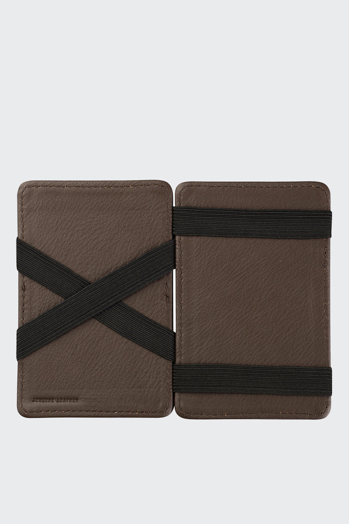 Status Anxiety Flip Wallet - chocolate