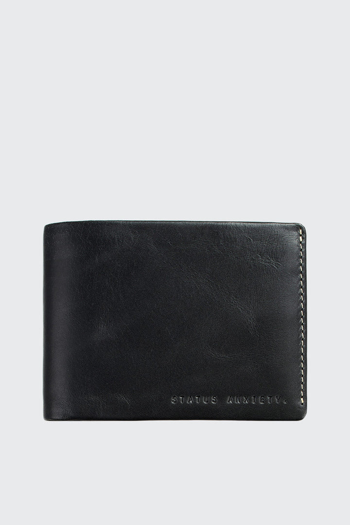 Status Anxiety Hosea Wallet - black | GOOD AS GOLD | NZ