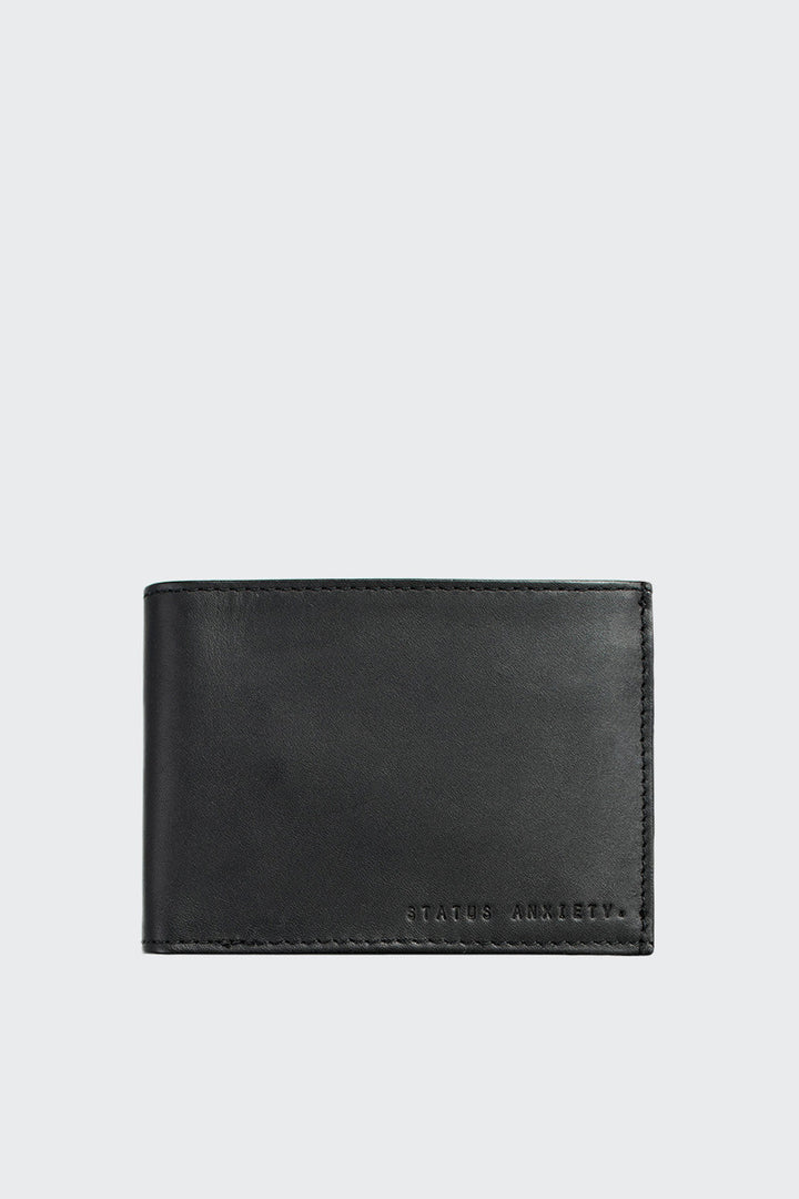 Status Anxeity Noah Wallet - black | GOOD AS GOLD | NZ