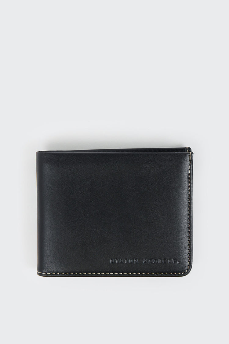 Status Anxiety Alfred Wallet - black | GOOD AS GOLD | NZ