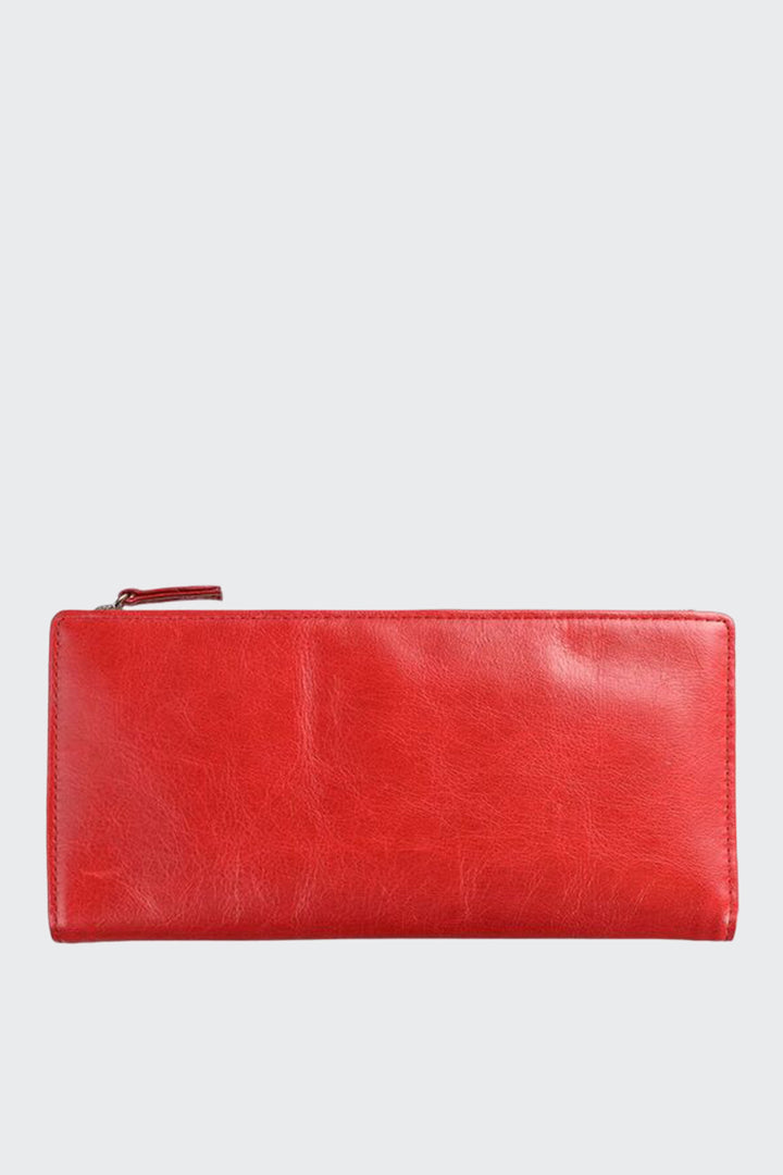 Status Anxiety Dakota Wallet - red | GOOD AS GOLD | NZ