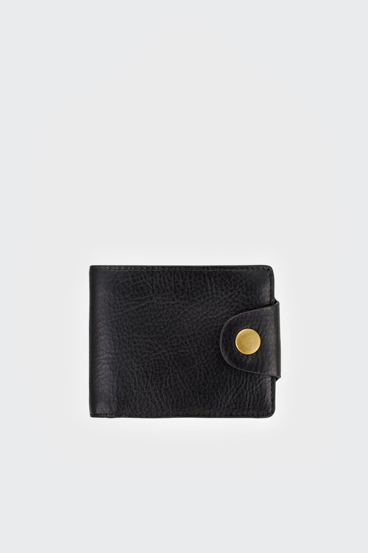 Status Anxiety, Eli Wallet - black | GOOD AS GOLD | NZ