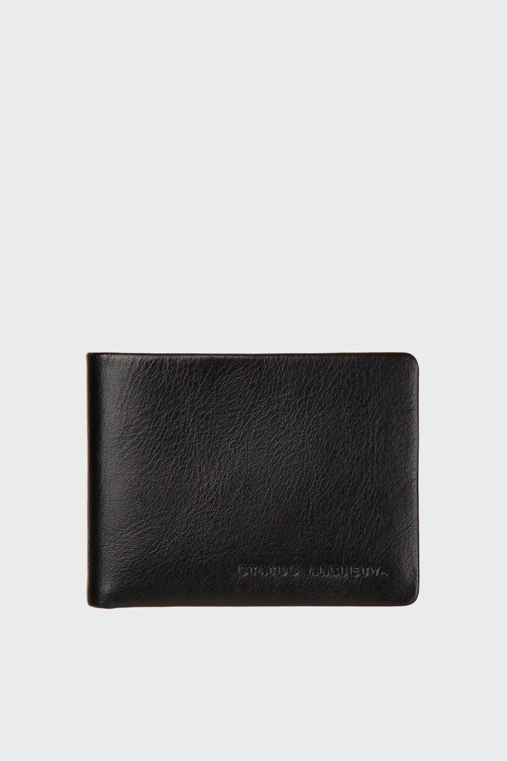 Status Anxiety Tobias Wallet - black | GOOD AS GOLD | NZ