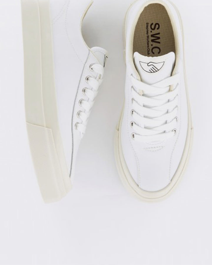 Dellow Leather - white