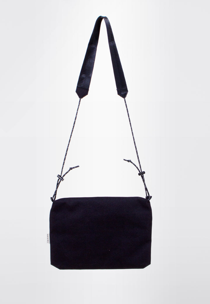 Sacoche Bag Large - black/black mesh
