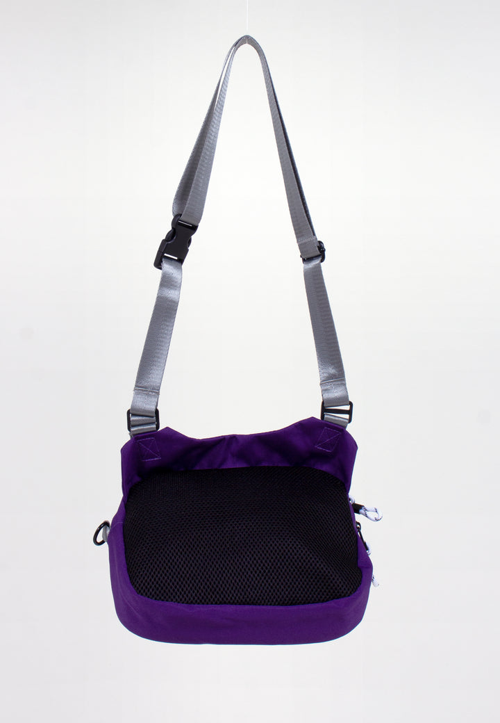 Shoki Bag - purple/black mesh
