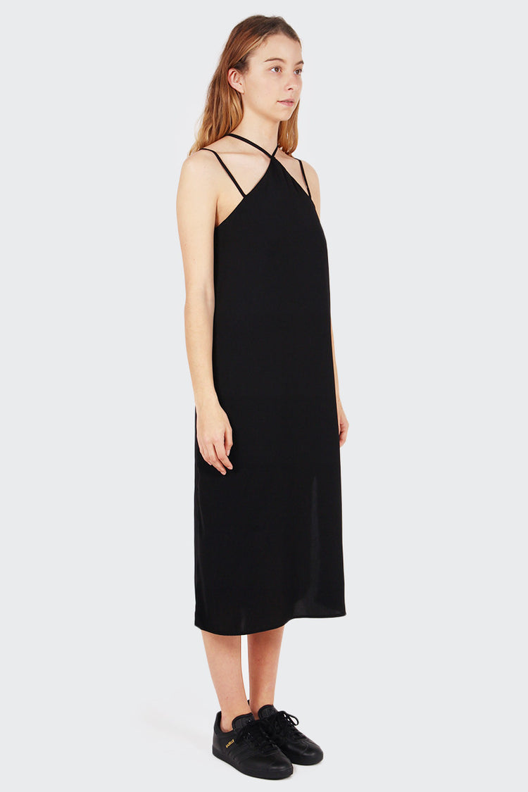 The Fifth In Full Light Dress - black | GOOD AS GOLD | NZ