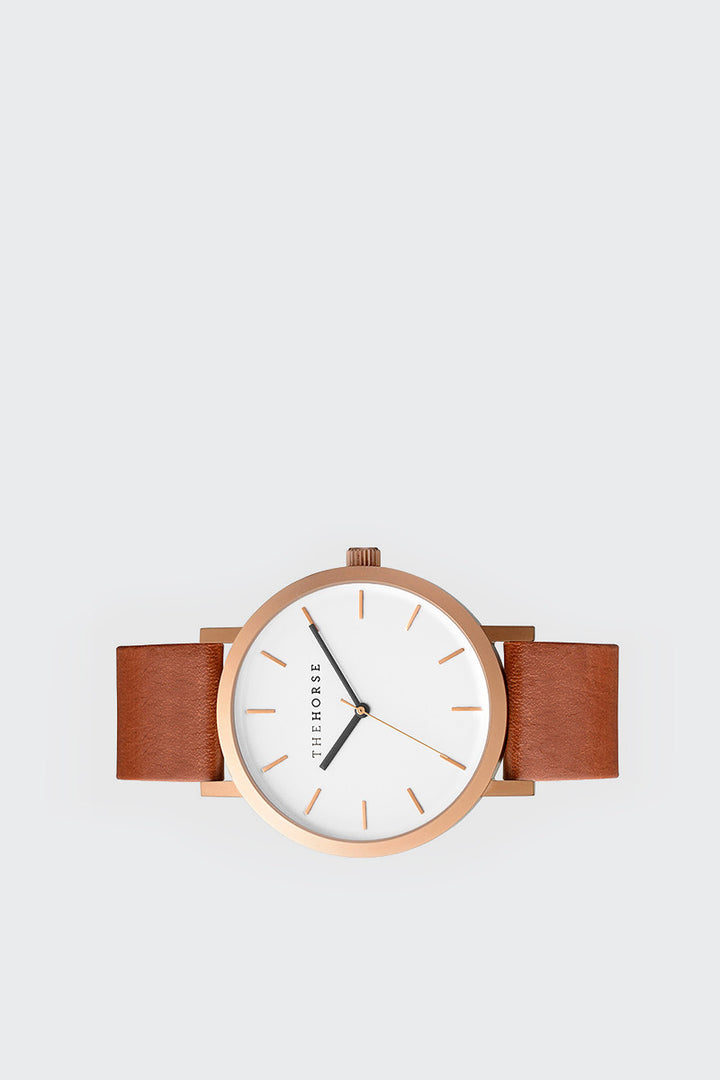 The Horse Original - walnut/white/rose gold | GOOD AS GOLD | NZ