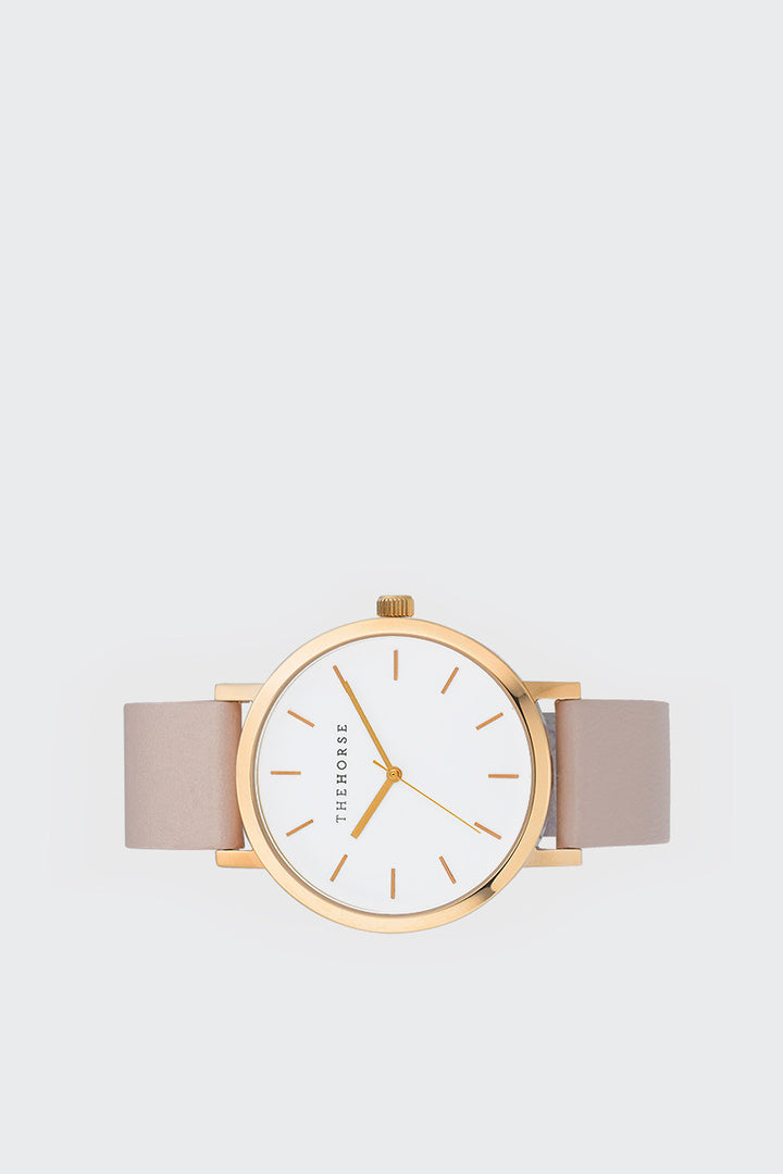 The Horse Original - polished rose gold/blush leather | GOOD AS GOLD | NZ