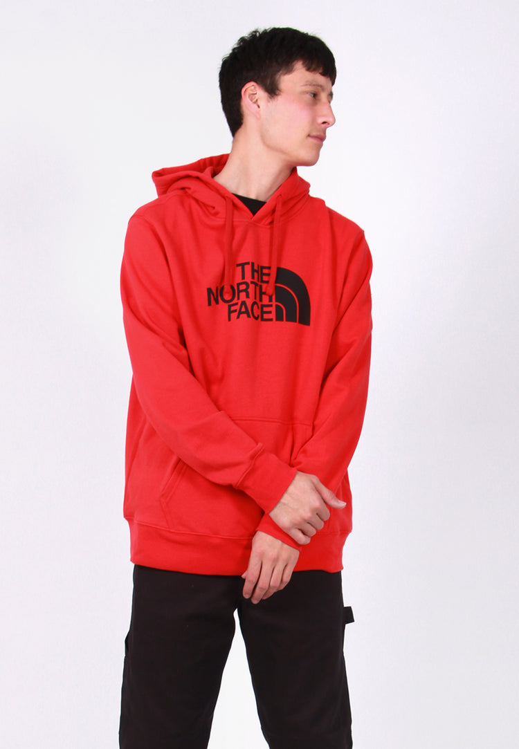 Half Dome Hoodie - red