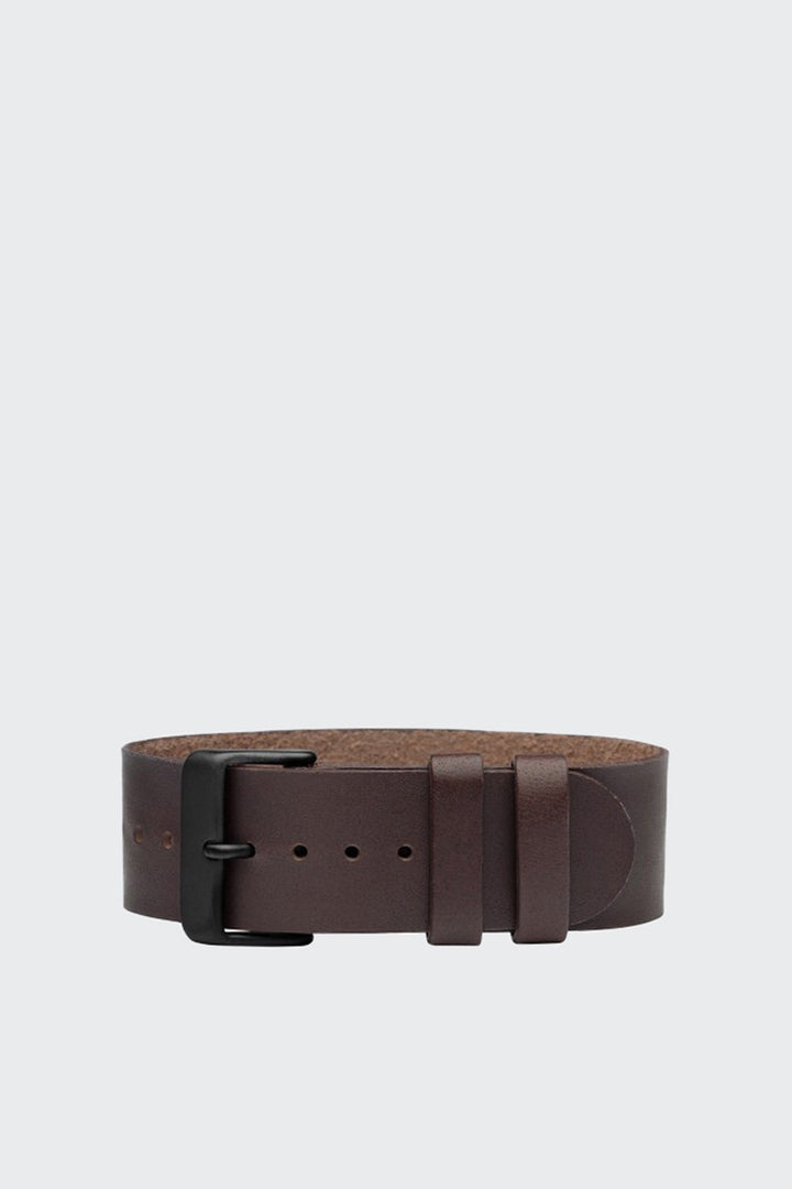 TID Watches Wristband - walnut leather | GOOD AS GOLD | NZ