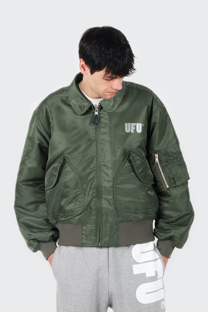 Used Future UFU Flight Jacket - green | GOOD AS GOLD | NZ