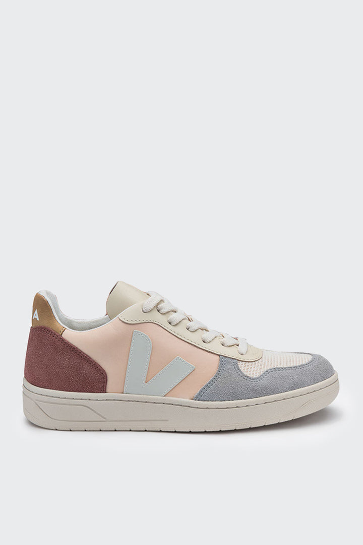 Veja V10 Leather - multico nude | GOOD AS | GOLD | NZ