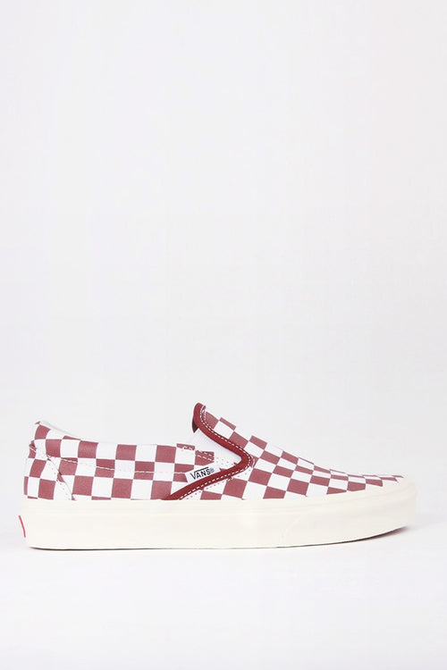 Vans Classic Slip-On - port/checkerboard — Good as Gold