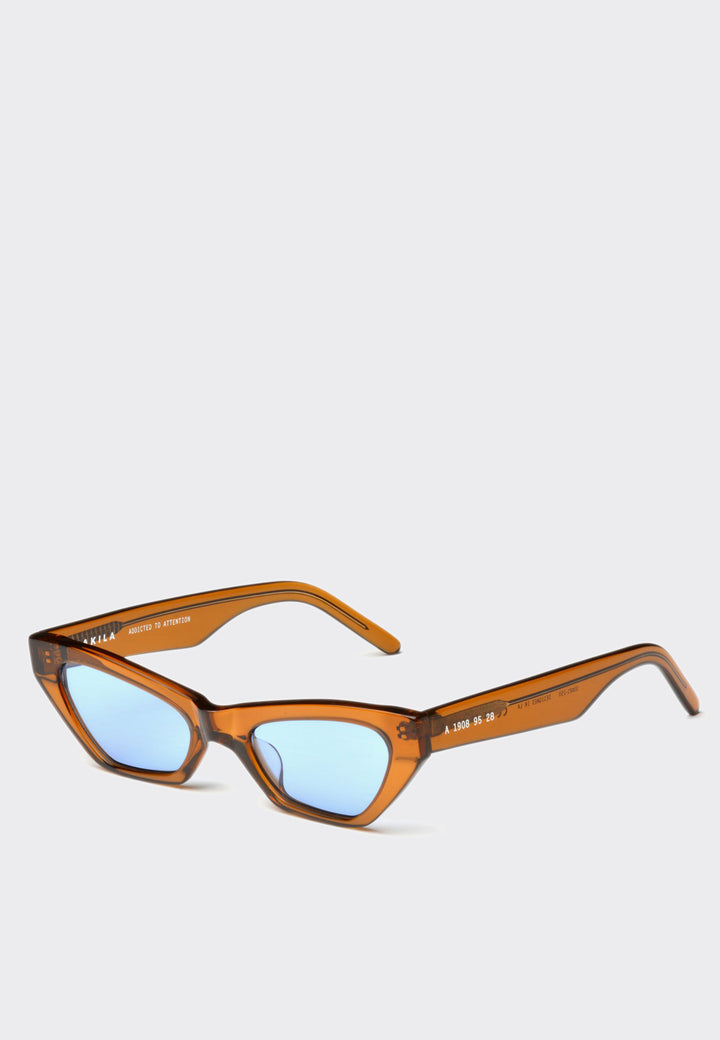 Vector Sunglasses - tobacco/sky