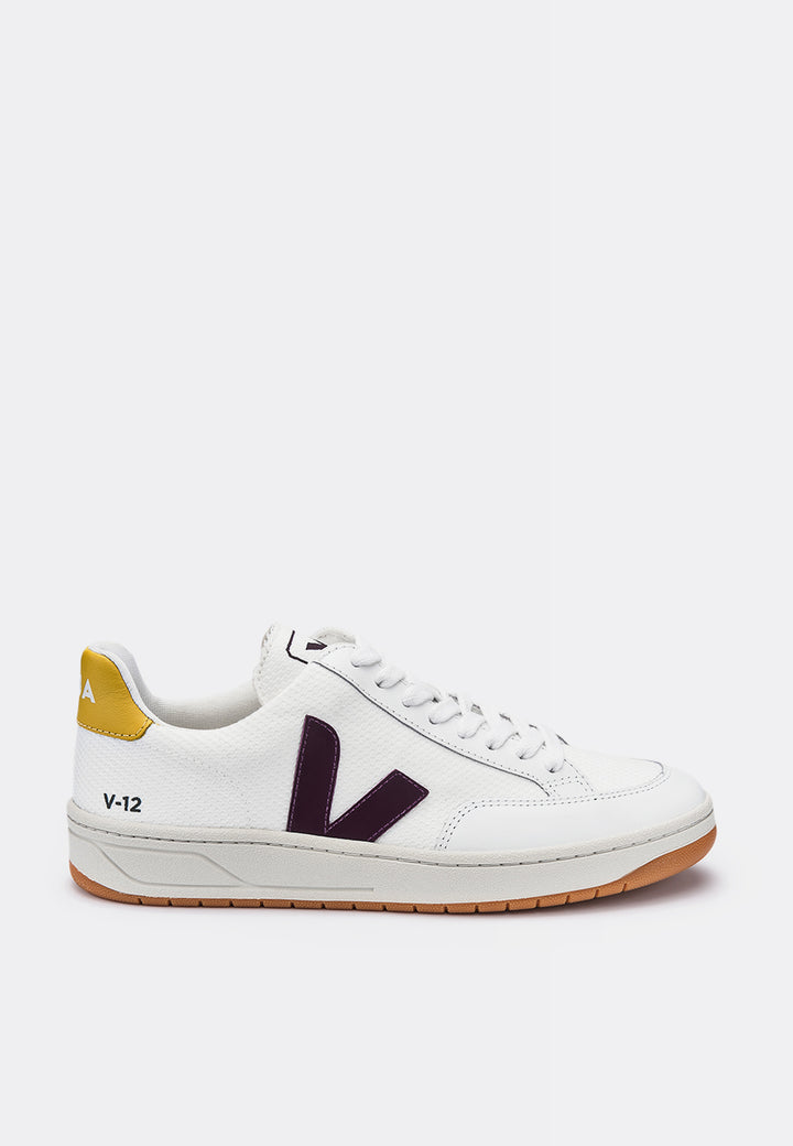 Veja V12 BMesh - white/berry/yellow — Good as Gold