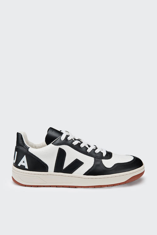 Veja V10 Bastille BMesh - white/black – Good as Gold