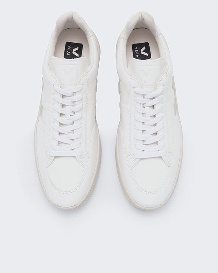 V12 Chromefree Leather - extra white/pierre