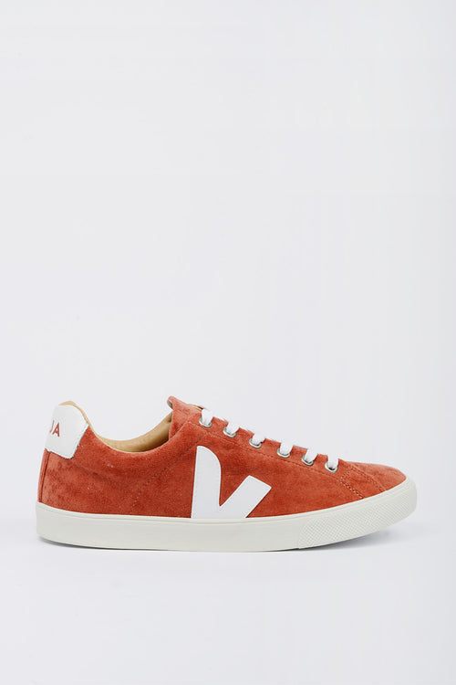 Veja Esplar Bastille Velvet - terracota/white – Good as Gold