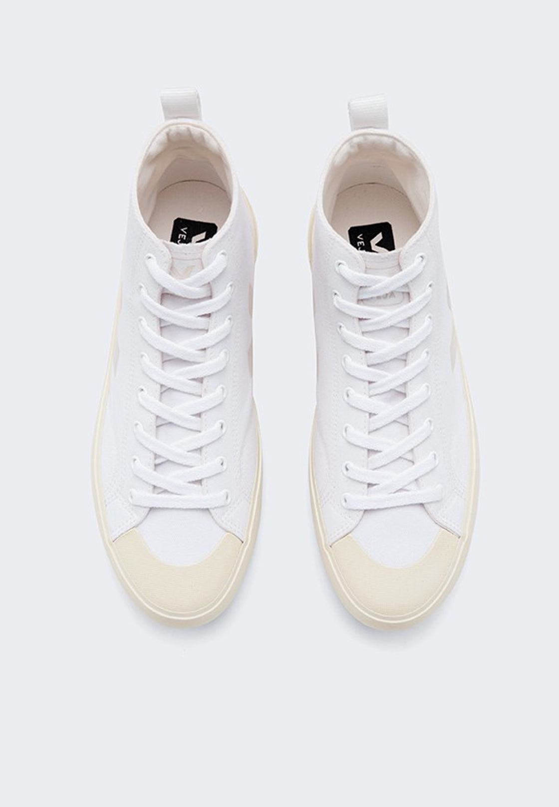 Nova High Canvas - white/butter
