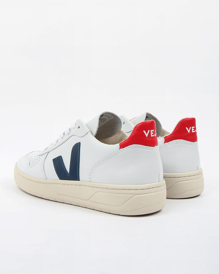 V10 Leather - extra white/nautico – Good as Gold
