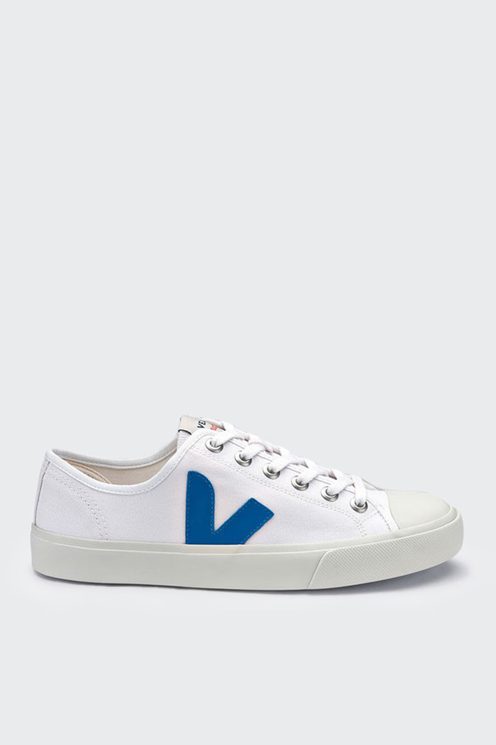 Veja Wata Canvas - extra white/swedish blue | GOOD AS GOLD | NZ
