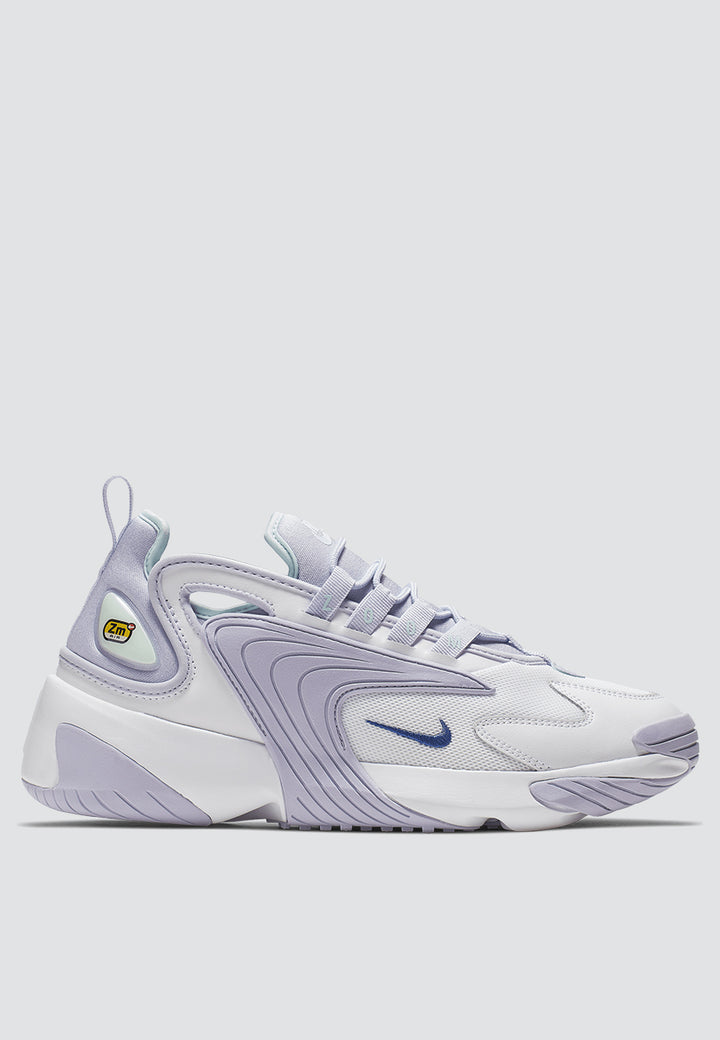Womens Zoom 2K - white/oxygen purple