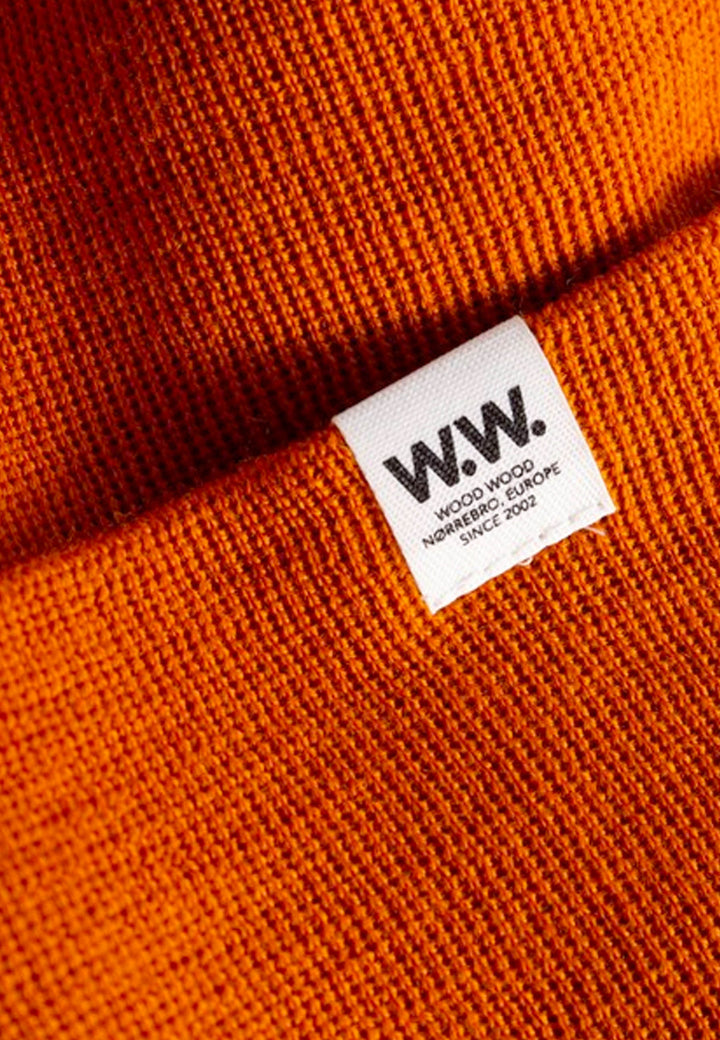Gerald Tall Beanie - orange