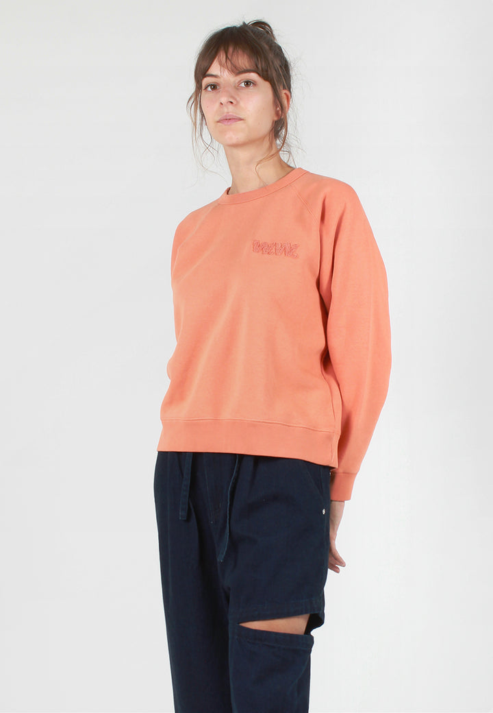 Wood Wood Jerri Sweater - dusty orange - Good As Gold