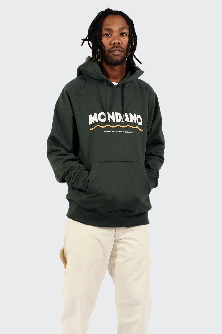 Wood Wood Raffi Hoodie - dark green | GOOD AS GOLD | NZ