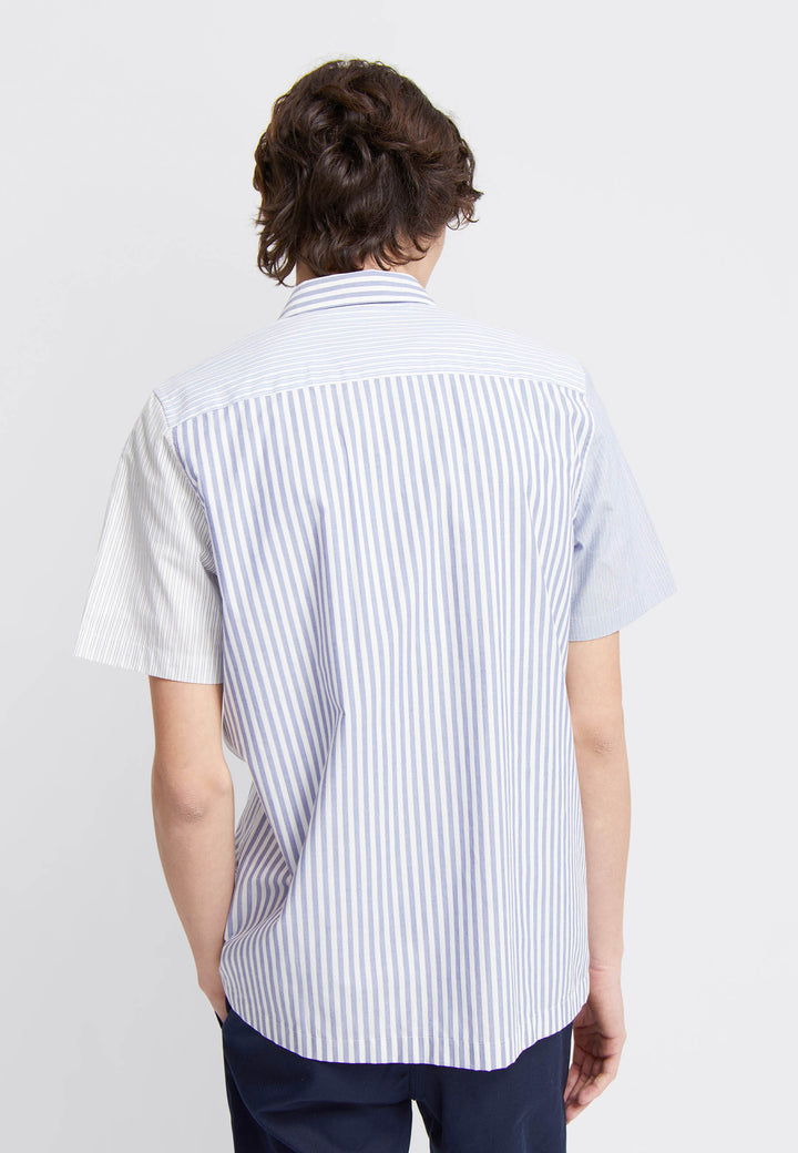 Thor Stripe Shirt SS - blue stripes
