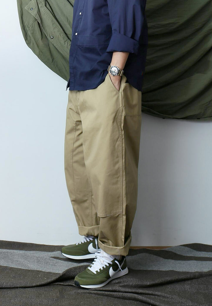 Big Pocket Pants - beige