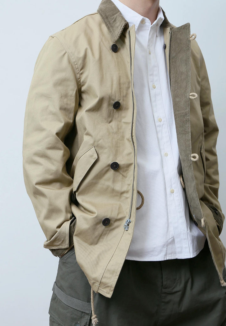 Country Jacket Fleece Jacket - khaki