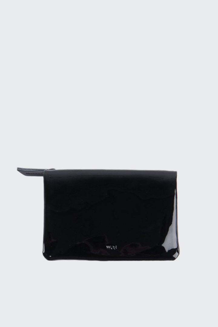 Small Sensation Wallet - black laquer | GOOD AS GOLD | NZ