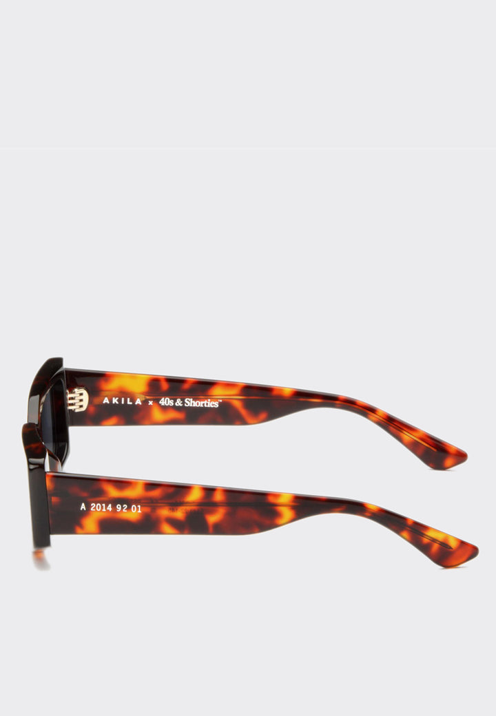 X 40s & Shorties Persona Sunglasses - tortoise/black