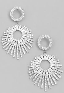 Glam Starburst Earrings