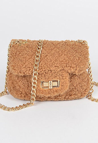 Gem Mini Fuzzy Handbag