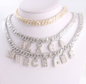 Ice Me Out Baguette Statement Necklace