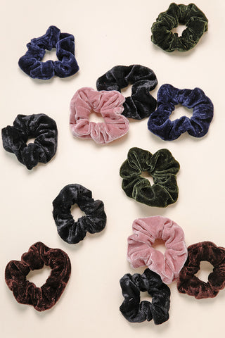 Velvet Srunchie Hair Tie
