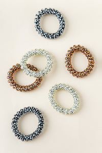 Animal Print Coiled Hair Ties