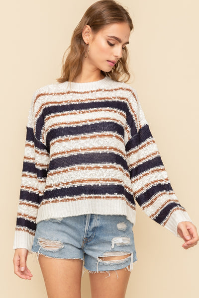 Read Between the Lines Sweater