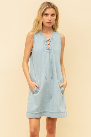 Downtown Denim Dress