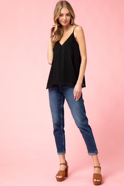 Playful Love Tank - Black
