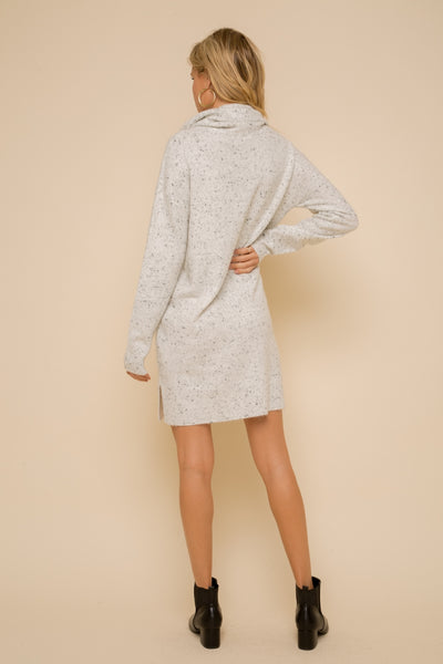 Holy Cowl Neck Sweater Dress