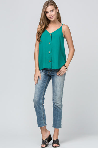 Let's Wine 'Button' Down - Green
