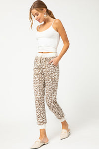 Wild Hearted Joggers - Taupe