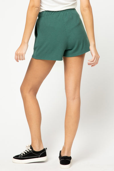 Weekend Wear Shorts - H. Green