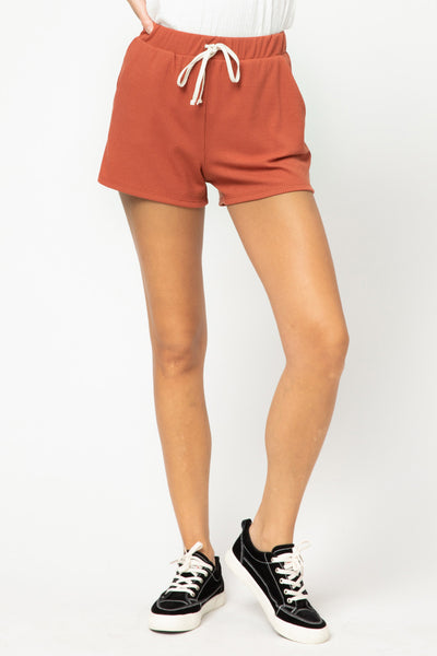 Weekend Wear Shorts - Brick