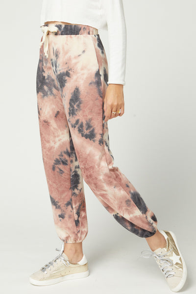 Lazy Day Joggers - Mauve